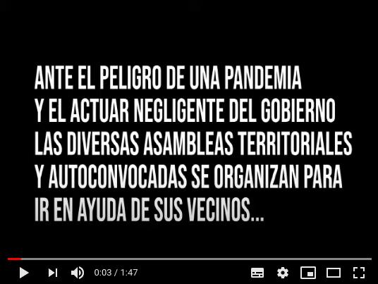 Video: En tiempos de COVID-19, ¡el Pueblo ayuda al Pueblo!