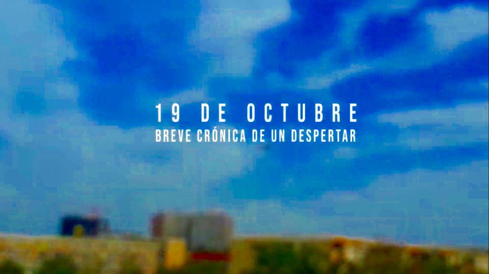 """Microdocumental """"19 de octubre: Breve Crónica del primer día de Estallido Social"""""""